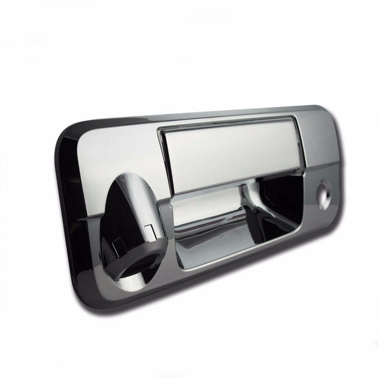 Picture of REAR DOOR HANDLE CHROME With CAMERA HOLE (2007-2013) - Toyota Tundra